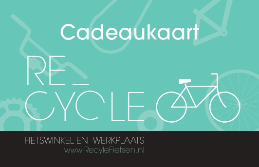 Recycle cadeaukaart