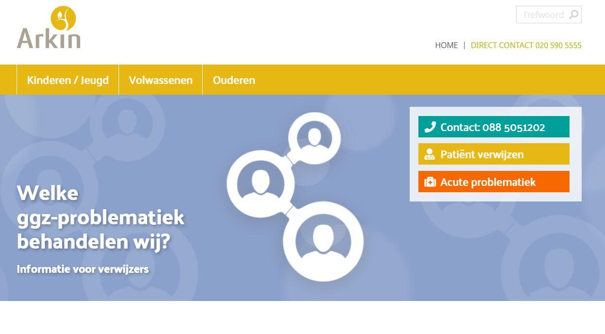 Nieuwe website voor verwijzers